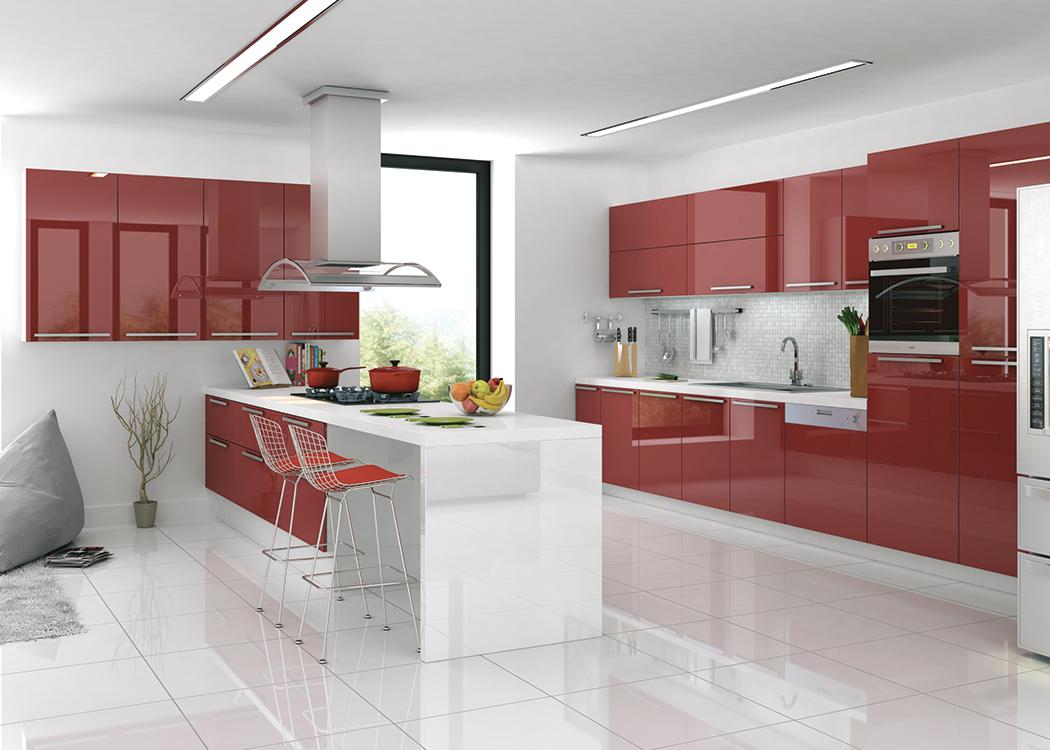 Acrylic-1301-Kırmızı